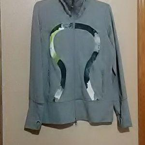 Lululemon  athletica zip jacket 12